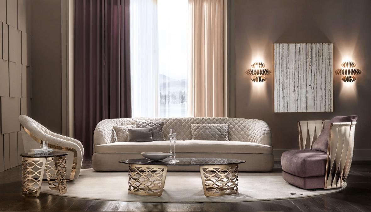 Wohnzimmer Klassisch Sofa Sessel Catori Twist Portofino Eggers EInrichten  Interior Design Muenchen