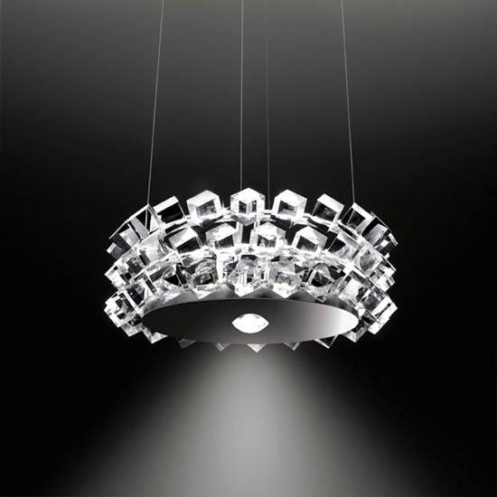 Designerleuchte Pendelleuchte cini nils collier Kristall Eggers Einrichten Interior Design Muenchen