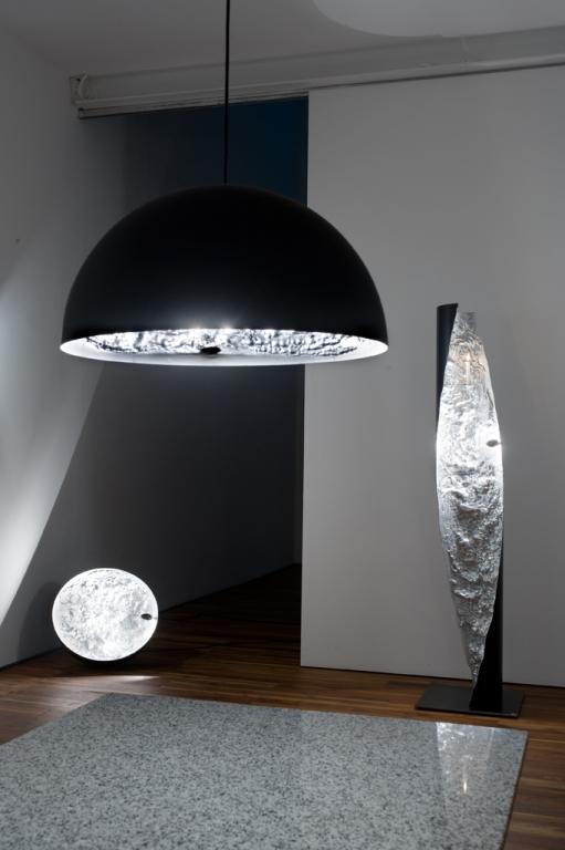 Deckenleuchte Stehleuchte Tischleuchte stchu moon Catellani Smith Eggers Einrichten Interior Design Muenchen