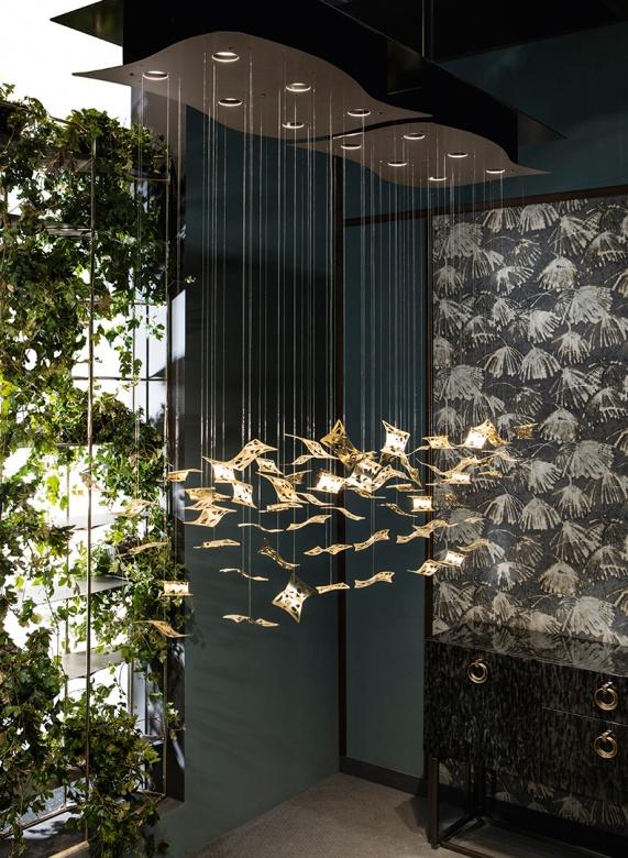 Cantori Pendelleuchte manta ray klassisch Eggers Einrichten Interior Design Muenchenxx