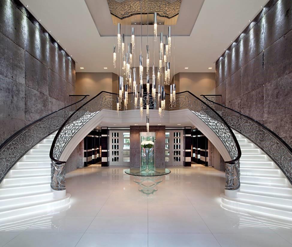 Haengelampe Pendelleuchte Ilfari Crystal Eggers Einrichten Interior Design Muenchen