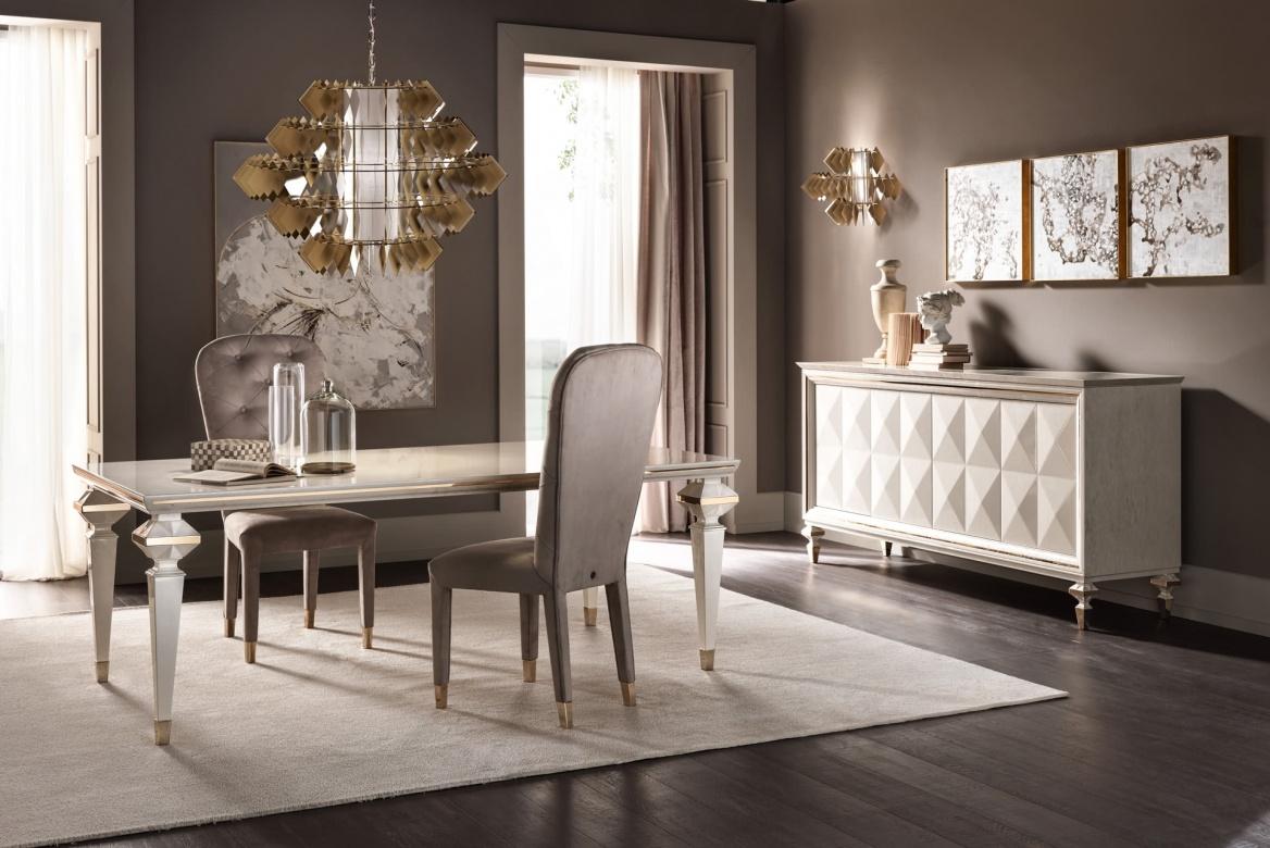 Lampe Diamante new Chandelier klassisch Cantori Eggers Einrichten Interior Design Luxus