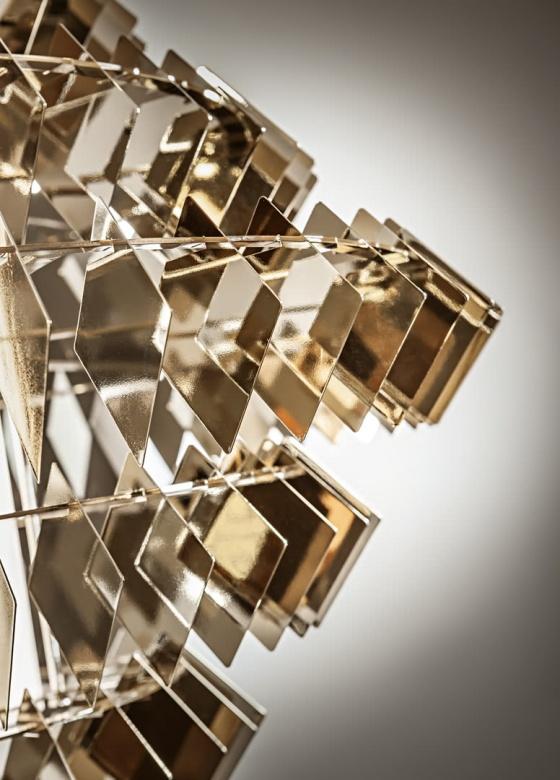 Lampe Diamond new Chandelier klassisch Cantori Eggers Einrichten Interior Design Muenchen Luxus 2
