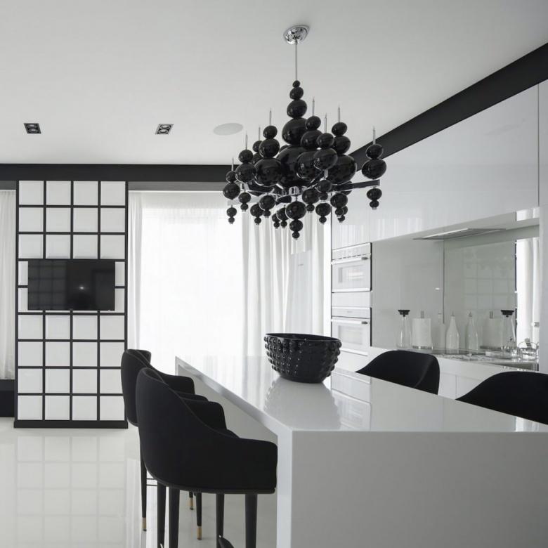 Lampe Deckenleuchte schwarz Ilfari tears interior Eggers Einrichten Interior Design Muenchen