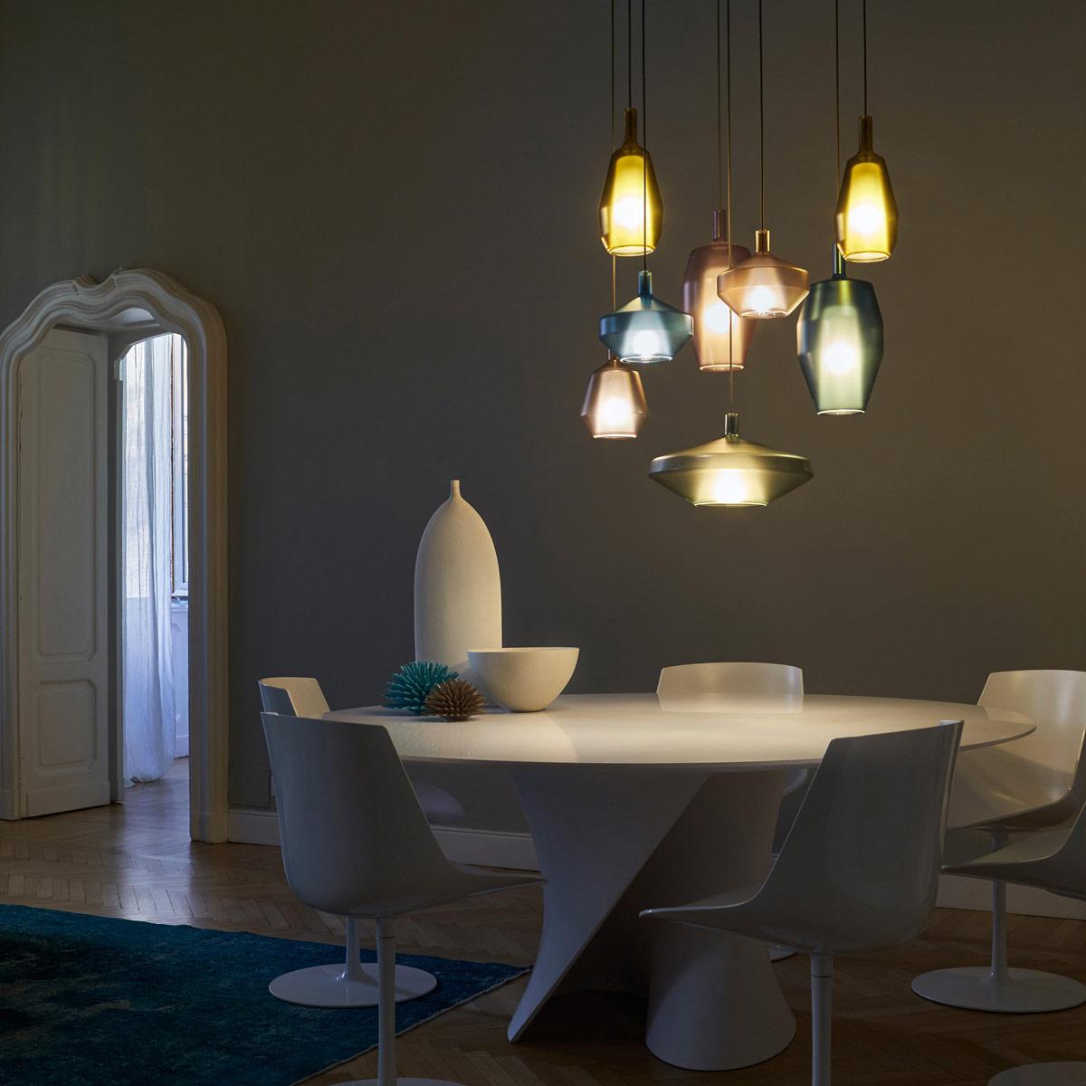 Pendelleuchte  Penta Haengeleuchte modern Eggers Einrichten Interior Design Muenchen