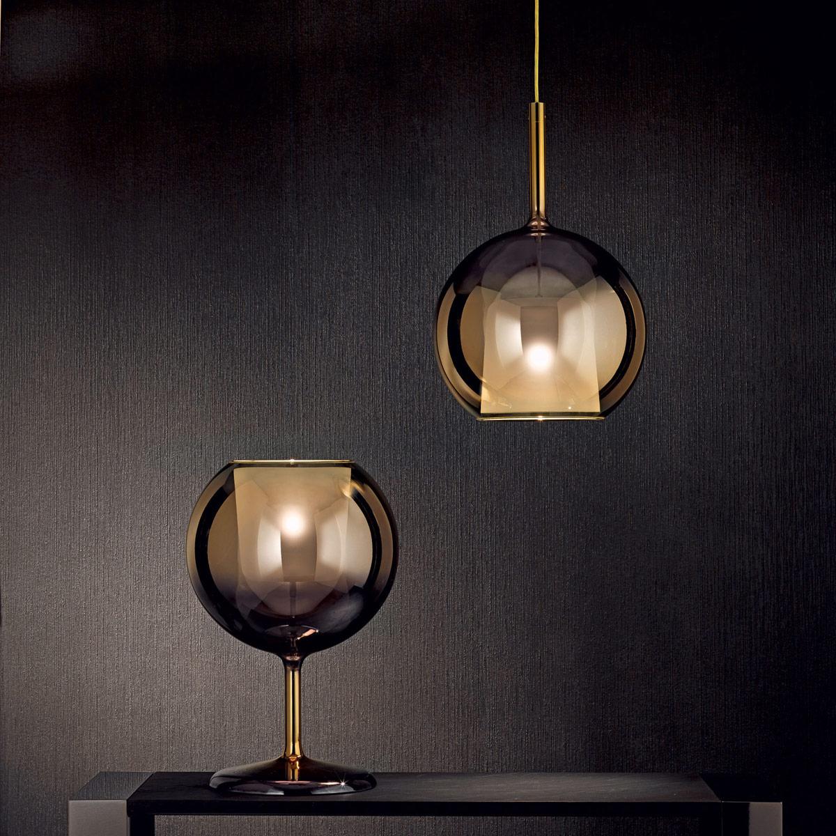 Hängeleuchte Penta Glas modern Eggers Einrichten Interior Design Muenchen