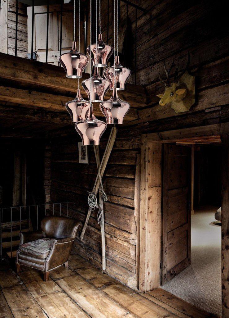 Studio Italia Haengelleuchte Nolstalgia modern Designerleuchte rose Eggers Einrichten Interior Design Muenchen