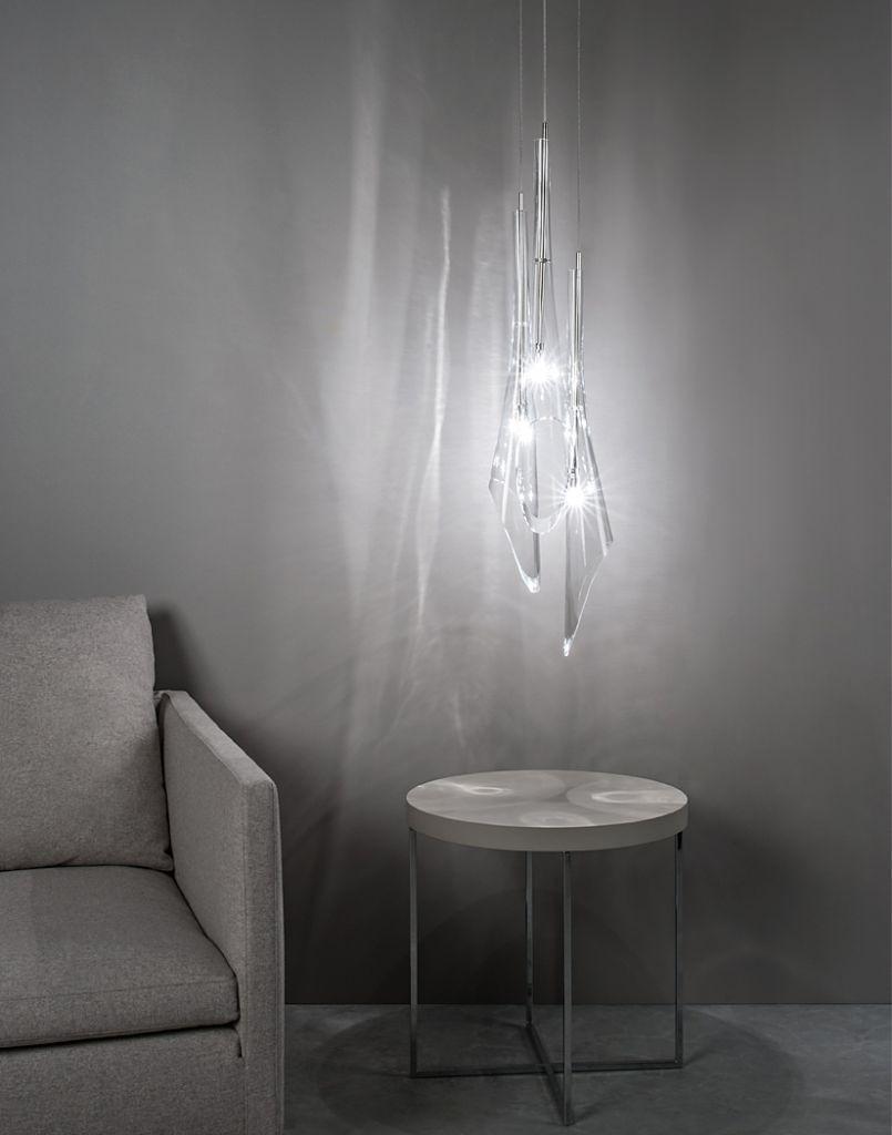 terzani luce pensata Calle Pendelleuchte glas Eggers Einrichten Interior Design Muenchen