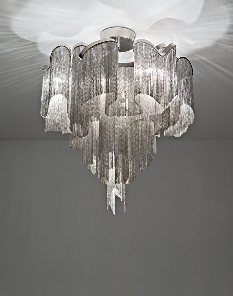 Haengelampe Deckenlampe terzani luce pensata stream Eggers Einrichten Interior Design Muenchen