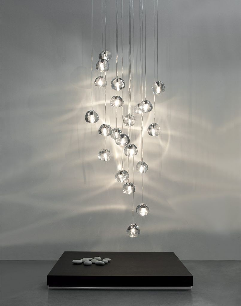 Haengeleuchte terzani luce pensata mizu Glas Eggers Einrichten Interior Design Muenchen