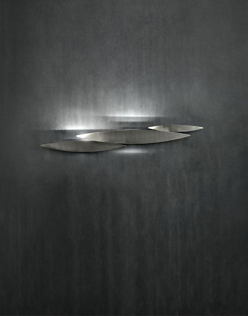 Wandleuchte modern terzani luce pensata lucci argentati Eggers Einrichten Interior Design Muenchen