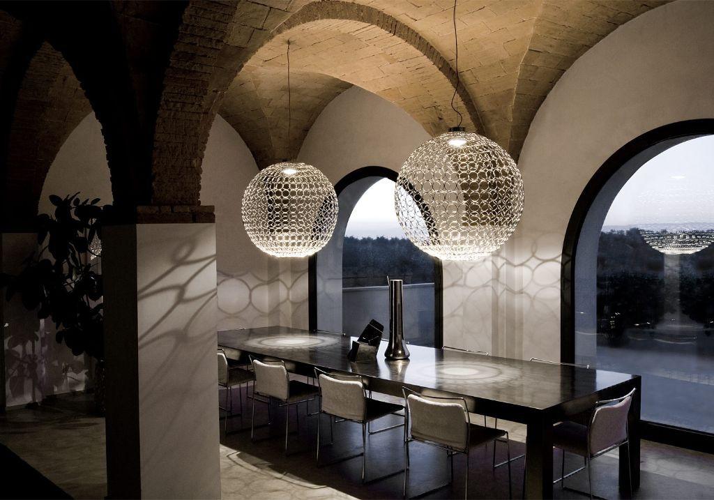 Haengelampe terzani luce pensata Eggers Einrichten Interior Design Muenchen