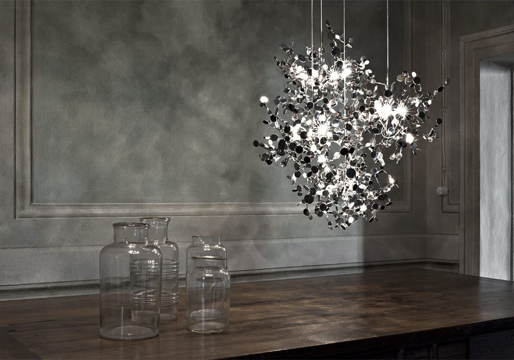 terzani luce pensata Argent Pendelleuchte Eggers iInrichten Interior Design Muenchen