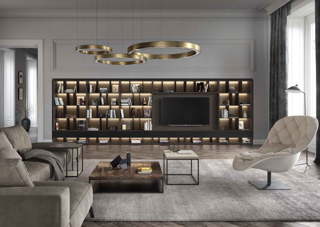 1 wohnzimmer wohnwand schwarz beleuchtung kettnaker vita eggers einrichten interior design muenchen xx