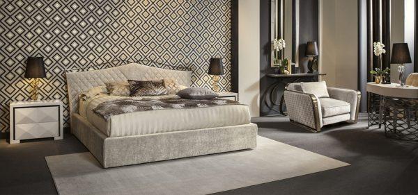 Schlafzimmer Cantori valentino letto bed Eggers Einrichten Interior Design Muenchen